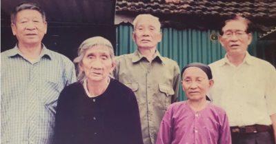 Hy hữu 5 chị em ruột ở Hà Tĩnh có tuổi trung bình hơn 90 đều khỏe mạnh, minh mẫn
